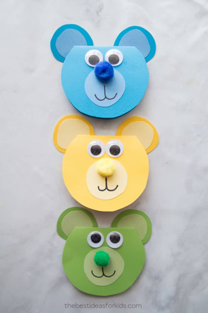 Bear Craft by The Best Ideas for Kids