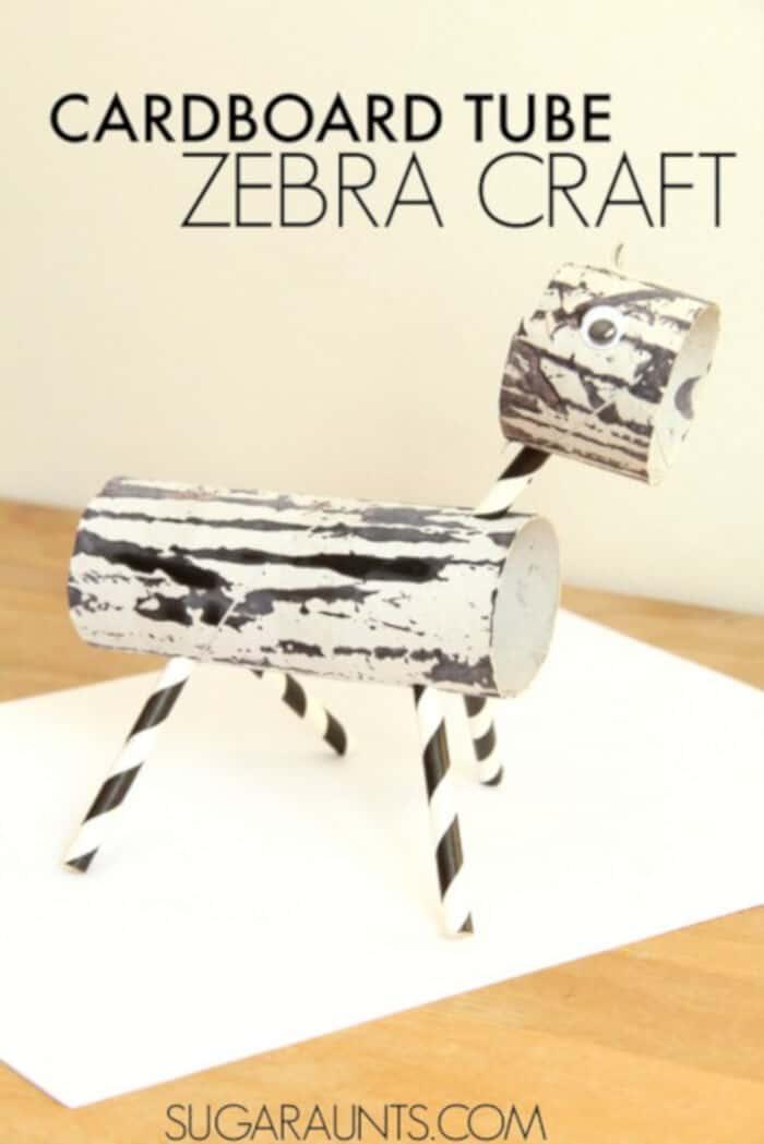 Cardboard-Tube-Zebra-Craft-by-The-OT-Toolbox