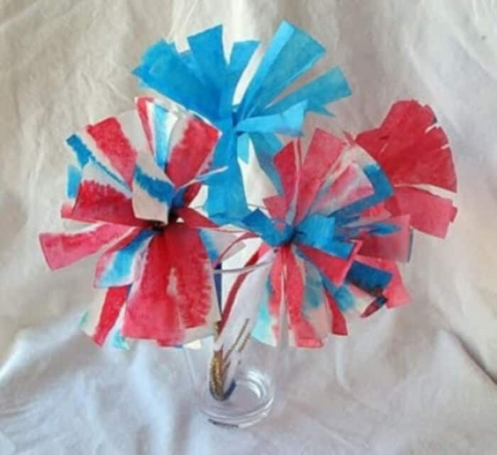 Coffee Filter Flowers by Crafts by Amanda