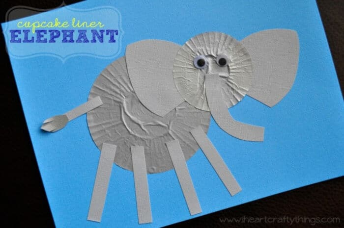 Cupcake-Liner-Elephant-Craft-by-I-Heart-Crafty-Things
