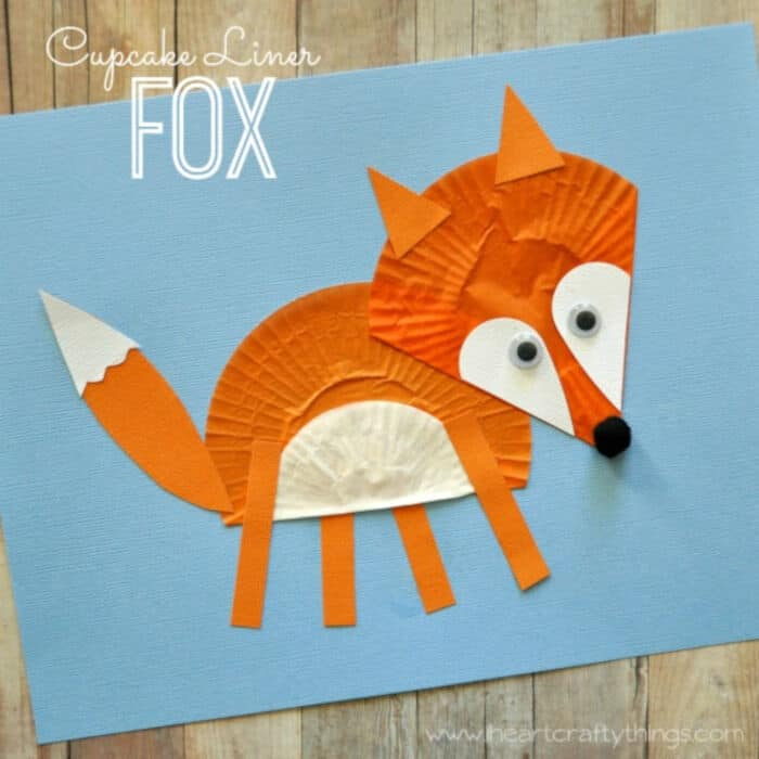 Cupcake-Liner-Fox-Craft-by-I-Heart-Crafty-Things