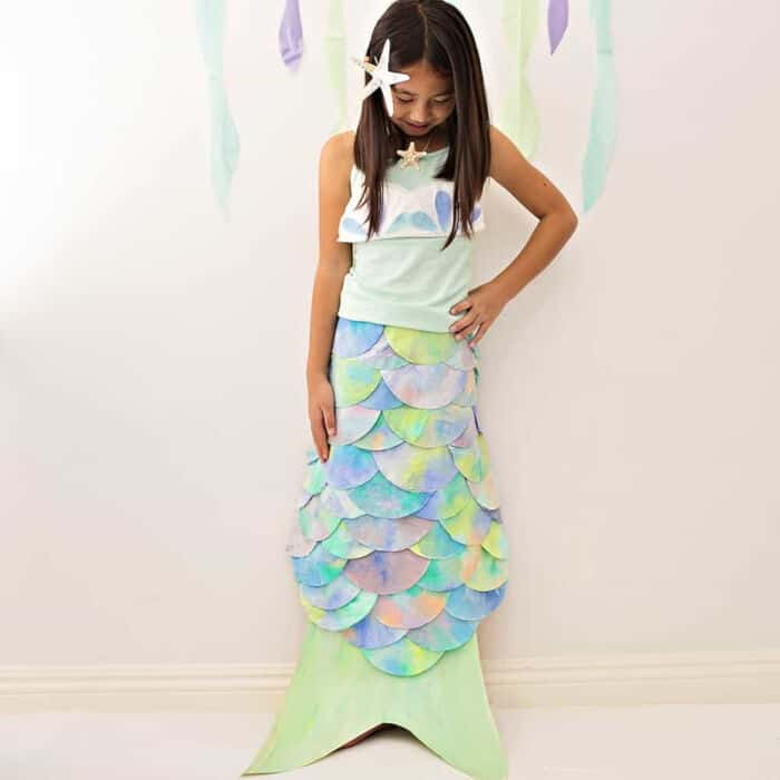 DIY-Mermaid-Costume-Made-With-Coffee-Filters-by-Hello-Wonderful