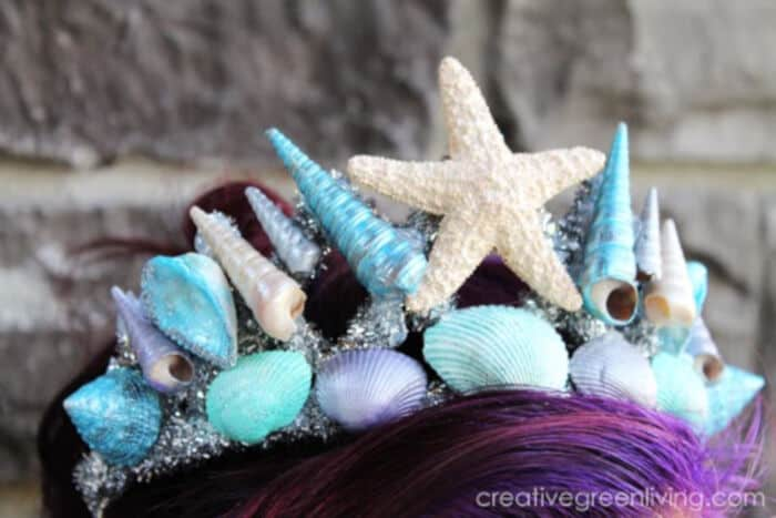 DIY-Mermaid-Crown-with-Seashells-by-Creative-Green-Living