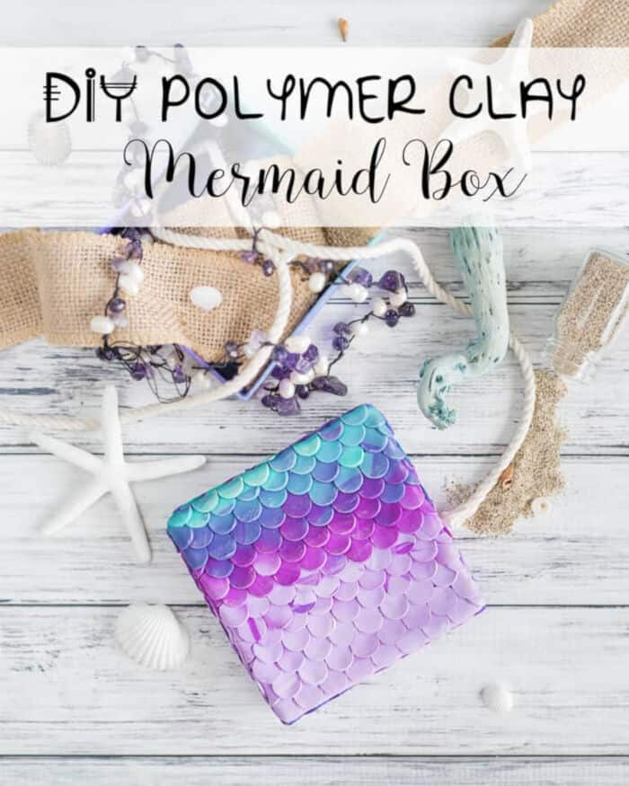 DIY-Polymer-Clay-Mermaid-Box-by-The-Artisan-Life