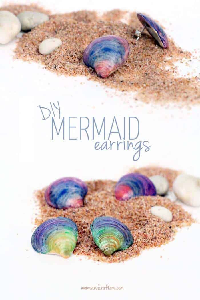 DIY-Seashell-Earrings-by-Moms-and-Crafters