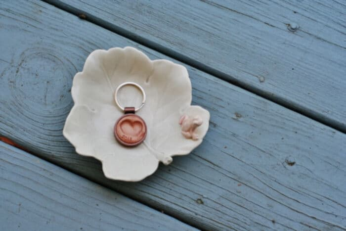 DIY Thumbprint Fob by Hellobee