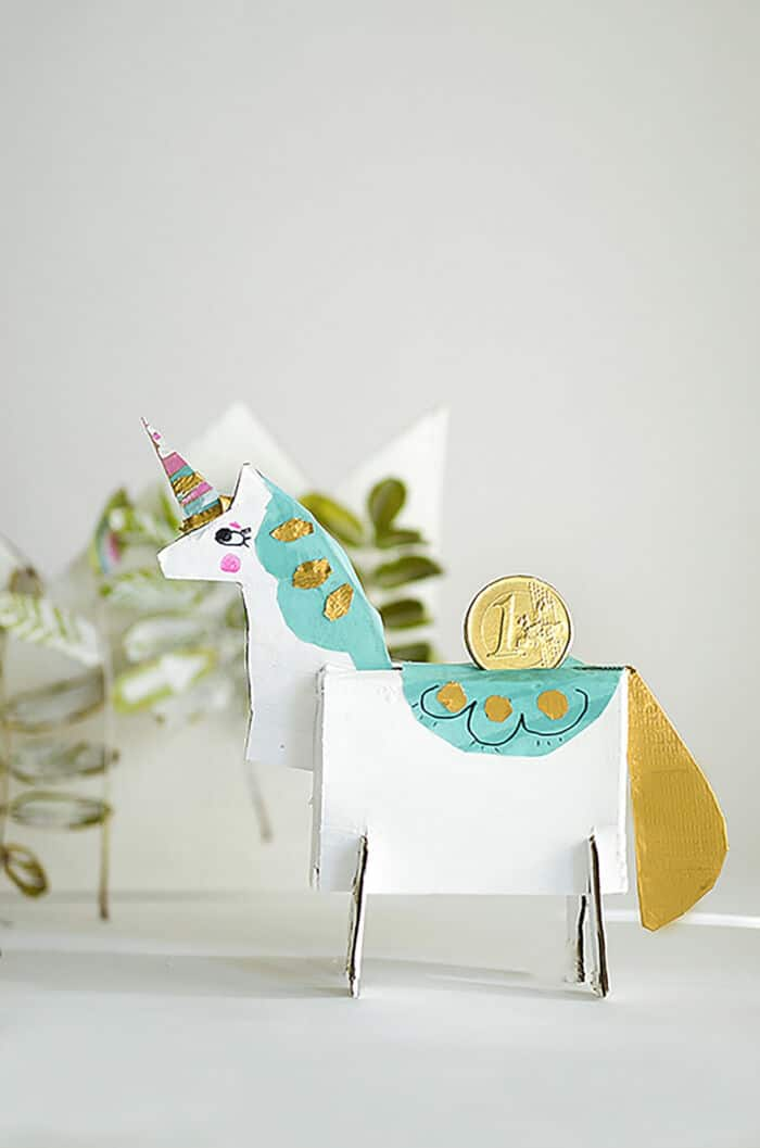 DIY Unicorn Bank by Willowday