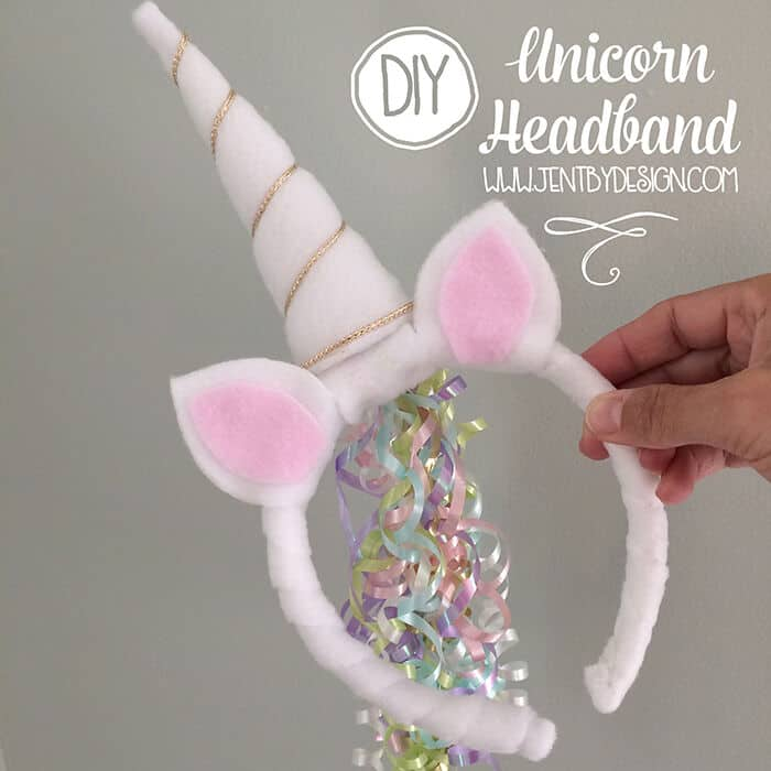 DIY Unicorn Headband Tutorial by Jen by Design