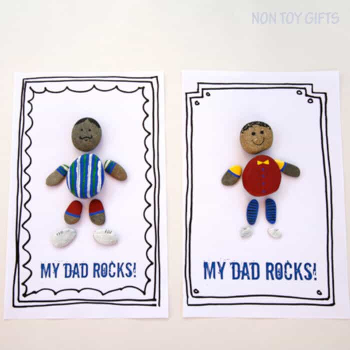 Dad Rocks by Non-Toy Gifts