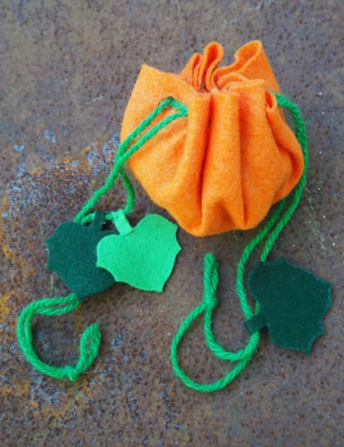 Easy Pumpkin Treat Bag by Hello, Wonderful