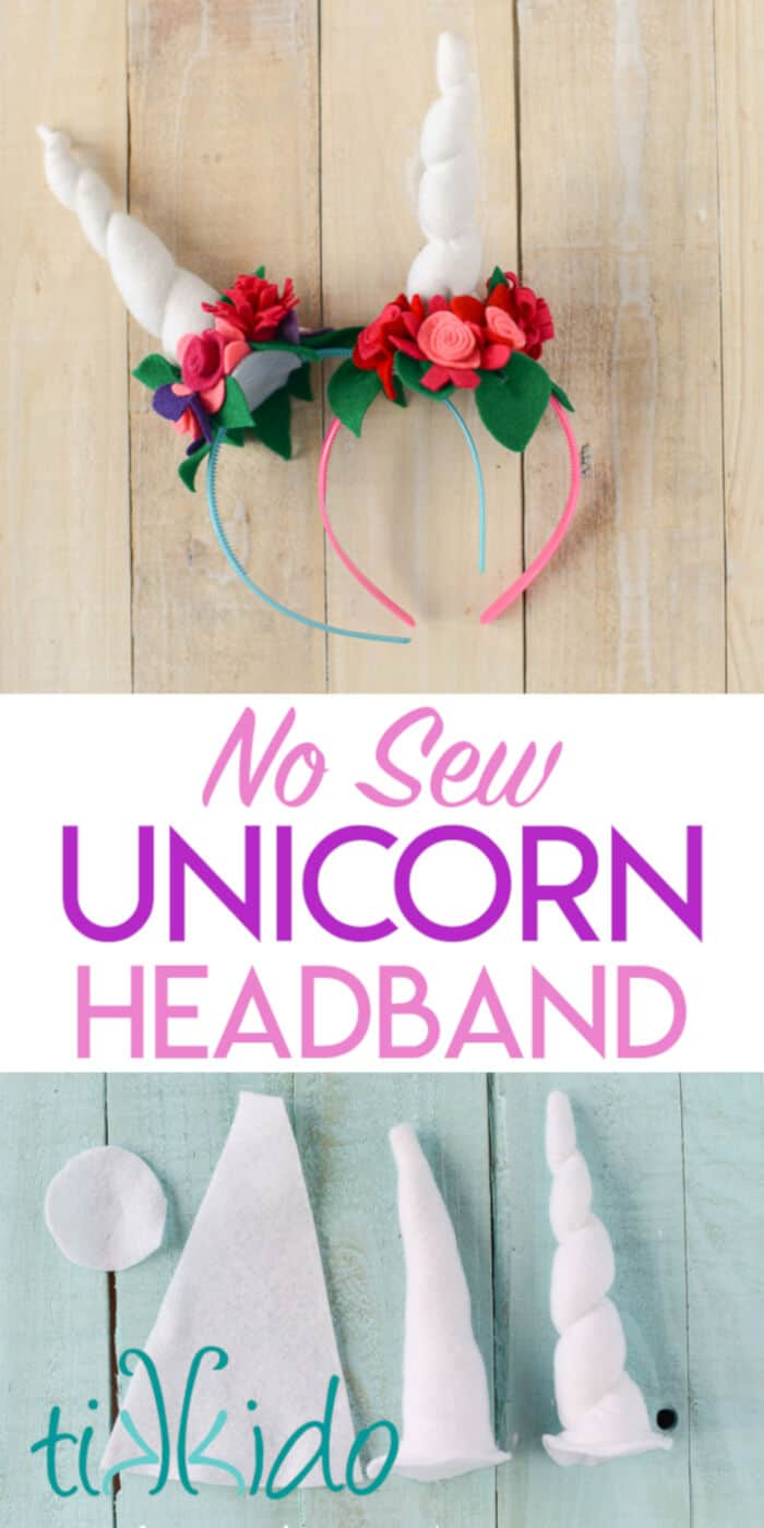 Easy Unicorn Headband by Tikkido