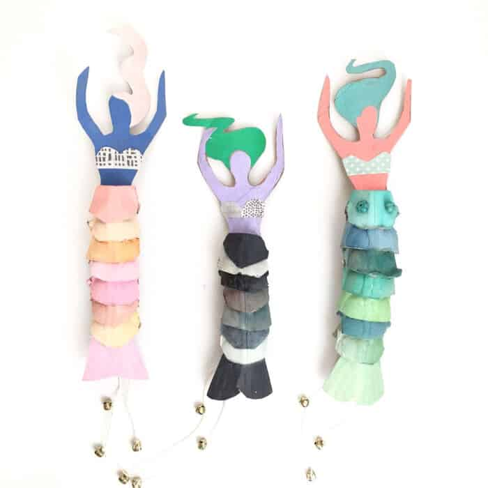 Egg-Carton-Mermaid-Dolls-by-ART-CAMP