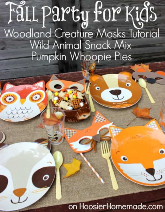 Fall-Party-for-Kids-with-Woodland-Creature-Mask-Tutorial-by-Simple-Easy-Creative