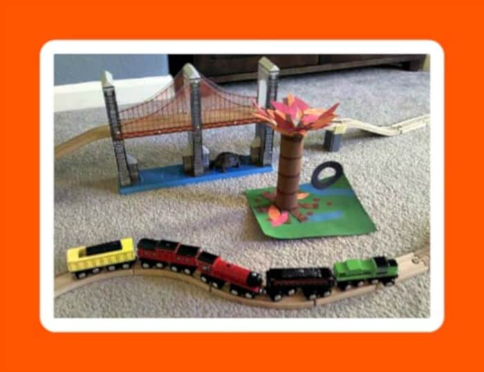 Fall Tree Craft for Kids by B-Inspired Mama