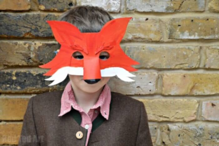Fantastic-Mr-Fox-Mask-for-World-Book-Day-by-Red-Ted-Art