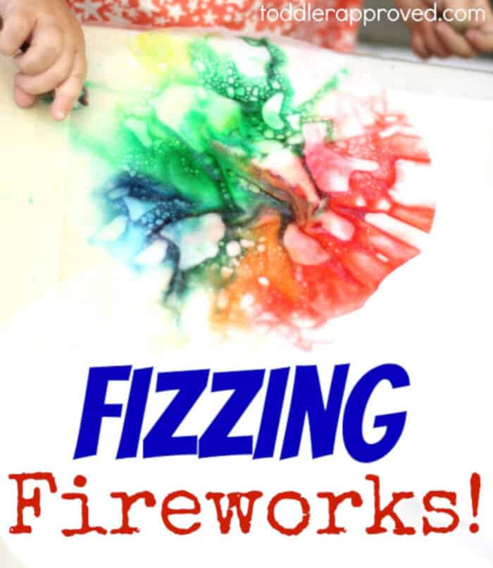 Fizzing Fireworks by Toddler Approved