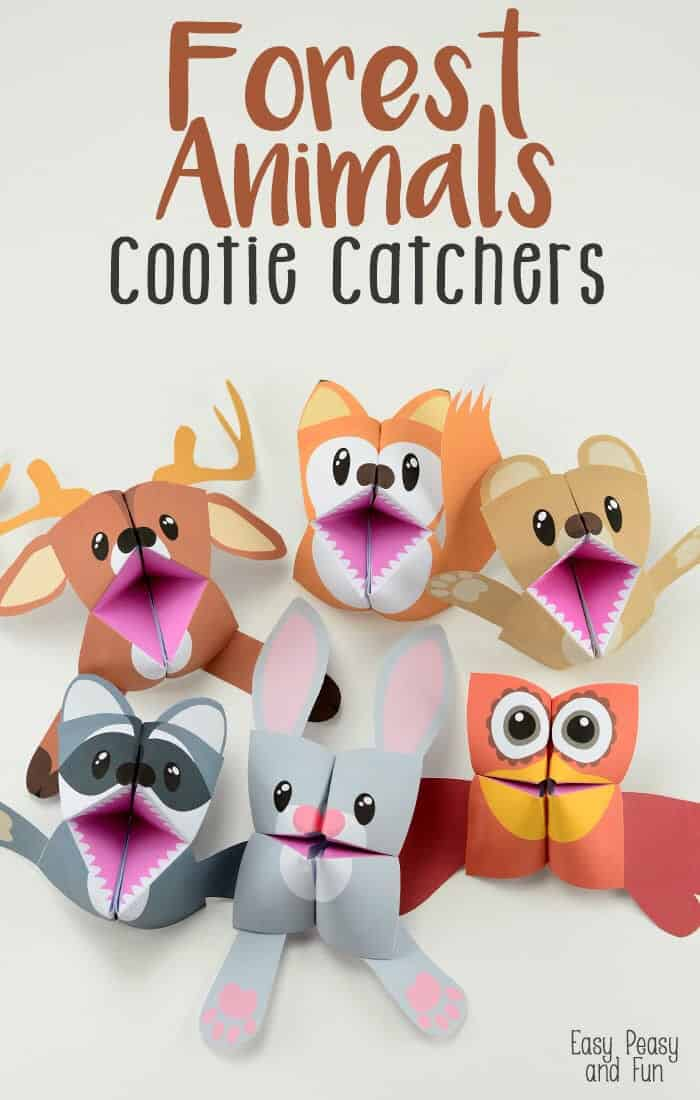Forest-Animals-Cootie-Catchers-by-Easy-Peasy-and-Fun