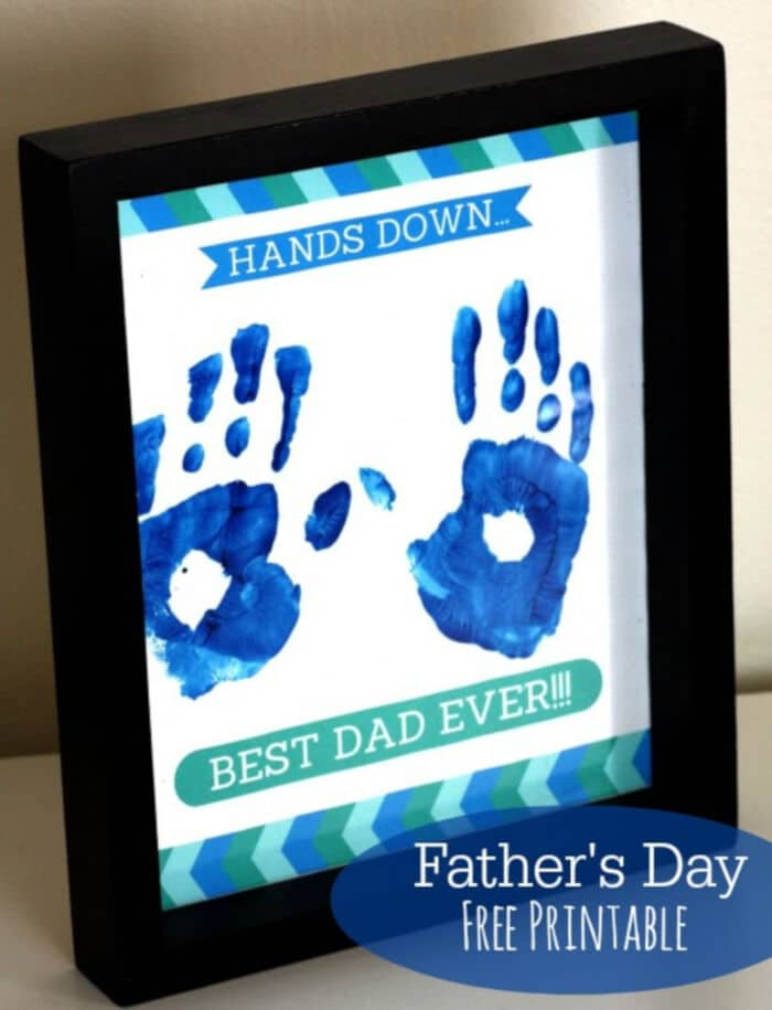 Free Fathers Day Printable Gift by Catch My Party