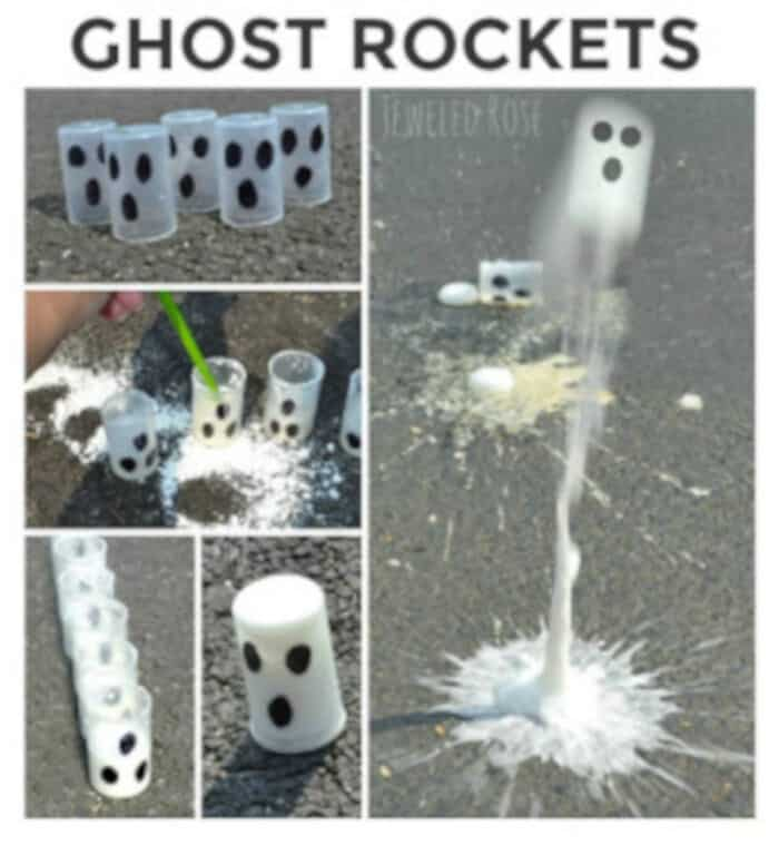 Ghost Rockets for Kids by Growing A Jeweled Rose