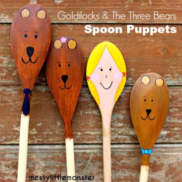 Goldilocks-and-the-Three-Bears-Spoon-Puppets-by-Messy-Little-Monster