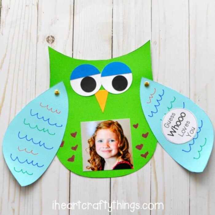 Guess Whooo Loves Your Father by I Heart Crafty Things