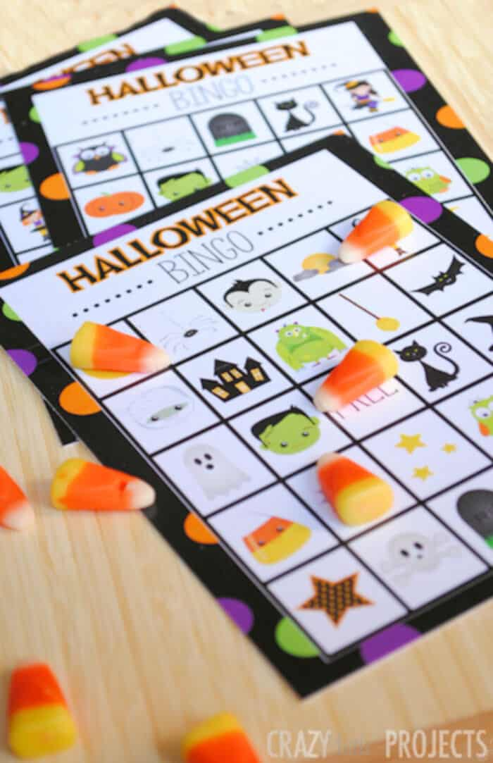 Halloween Bingo by Fun-Squared