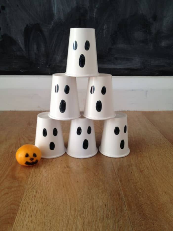 Halloween Ghost Bowling Game by The Spirited Puddle Jumper