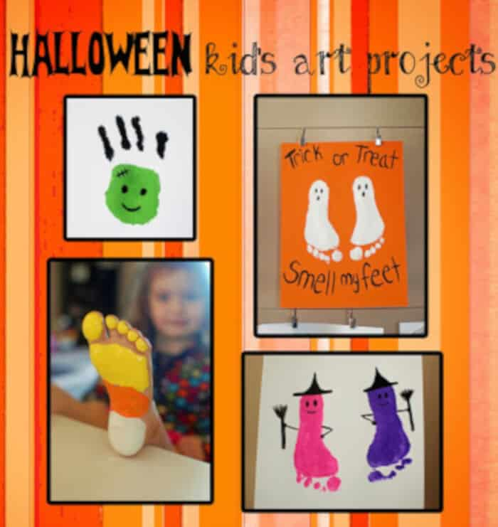 Halloween Kids Art Projects by Pinkie for Pink