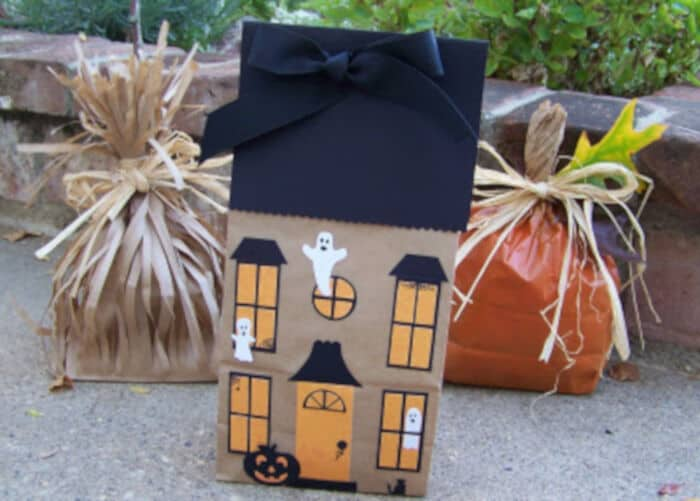 Halloween Paper Bags by The Paper Pony