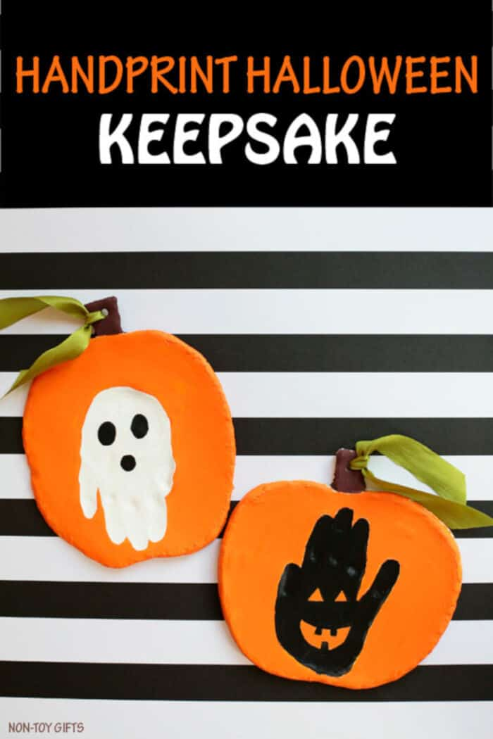 Handprint Halloween Keepsake by Non-Toy Gifts