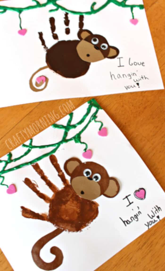 Handprint-Monkey-Valentine-Craft-for-Kids-by-Crafty-Morning