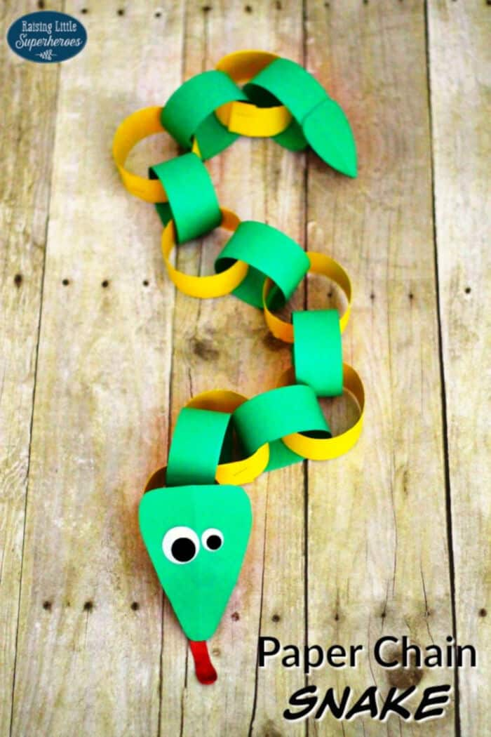 How-To-Make-A-Paper-Chain-Snake-by-Raising-Little-Superheroes