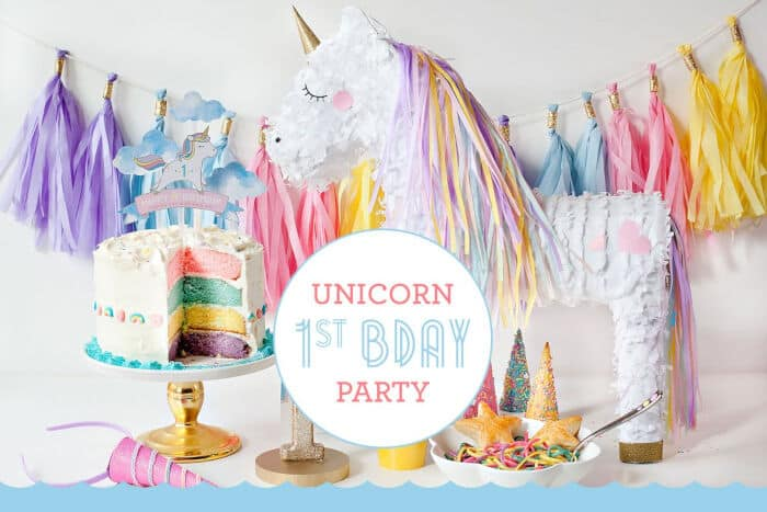 How To Throw a Unicorn First Birthday Party! by Fisher Price