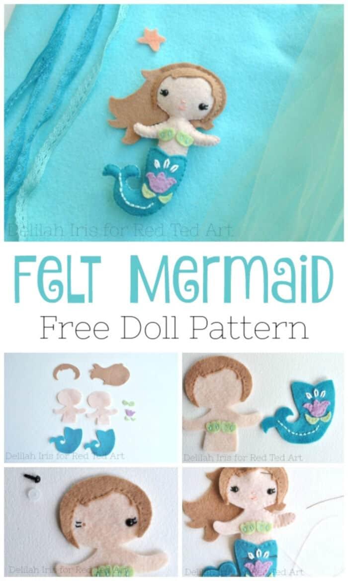 Little-Felt-Mermaid-Pattern-by-Red-Ted-Art