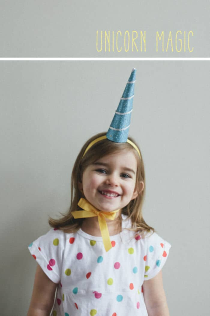 Make a Unicorn Horn by A Subtle Revelry