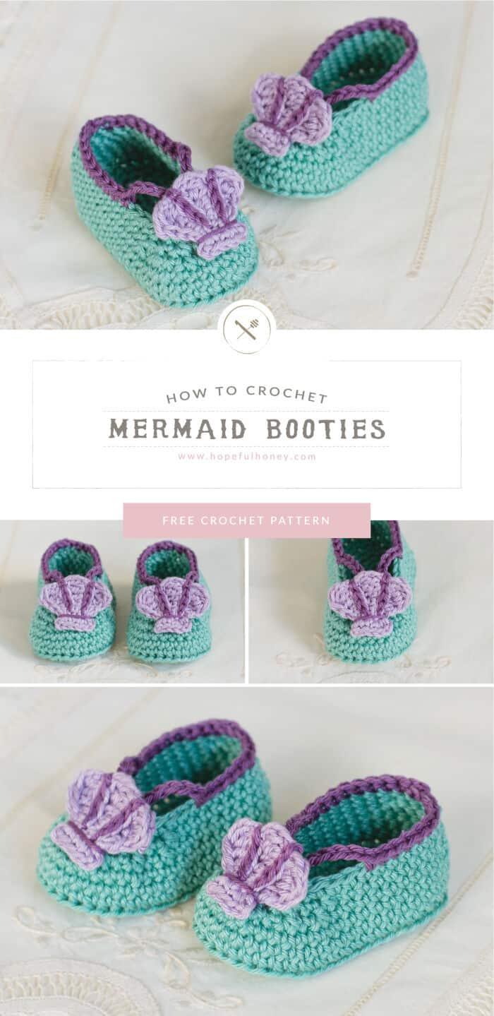 Mermaid-Baby-Booties-Crochet-Pattern-by-Hopeful-Honey