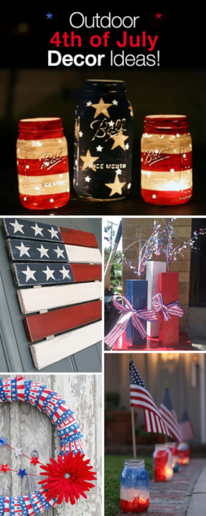 Outdoor 4th of July Decor by The Garden Glove