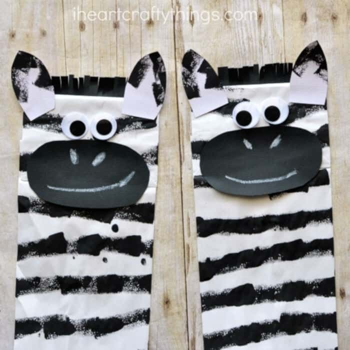 Paper-Bag-Zebra-Craft-by-I-Heart-Crafty-Things