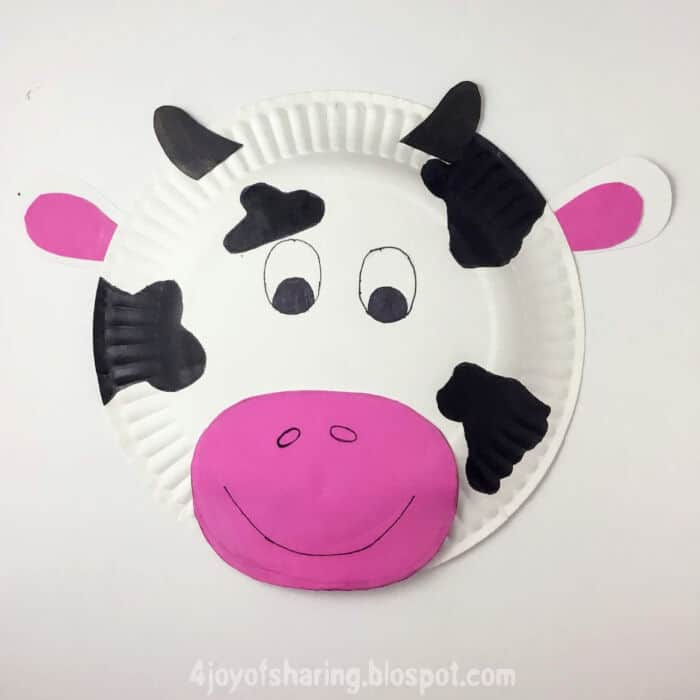 Paper-Plate-Cow-Craft-by-The-Joy-of-Sharing