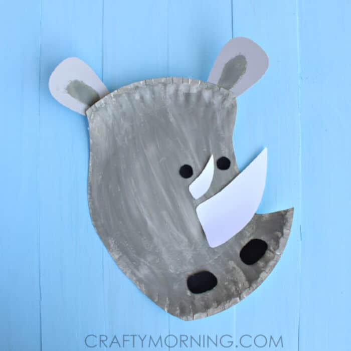 Paper-Plate-Rhino-Craft-for-Kids-by-Crafty-Morning