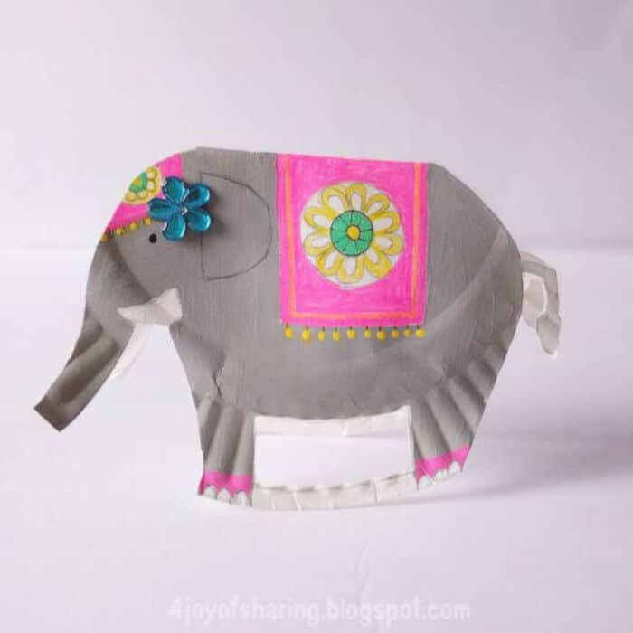 Paper-Plate-Rocking-Elephant-Craft-For-Kids-by-The-Joy-of-Sharing