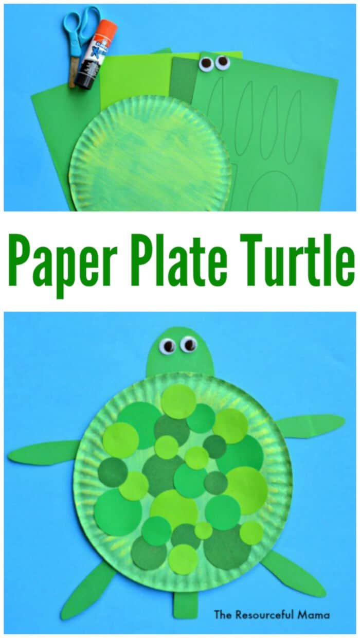 Paper-Plate-Turtle-Craft-by-The-Resourceful-Mama