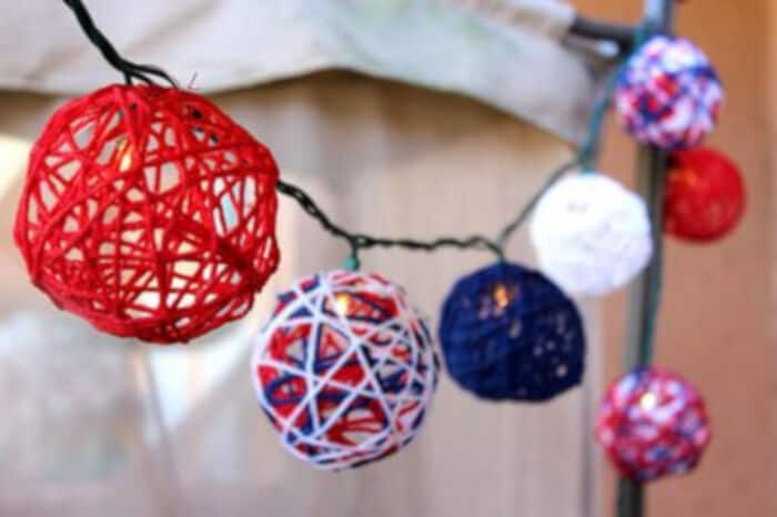 Patriotic String Lights by eHow