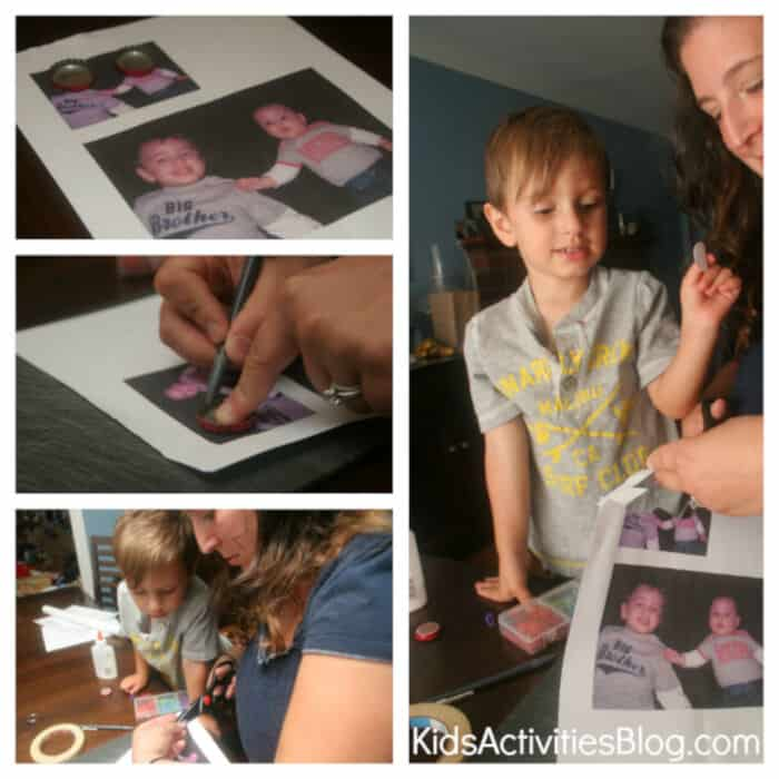 Photo Key Chain by Kids Activities