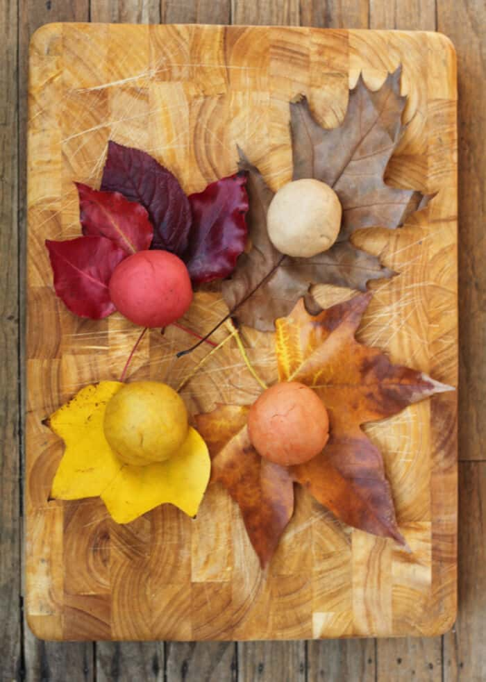 Pumpkin Spice Playdough by Small + Friendly