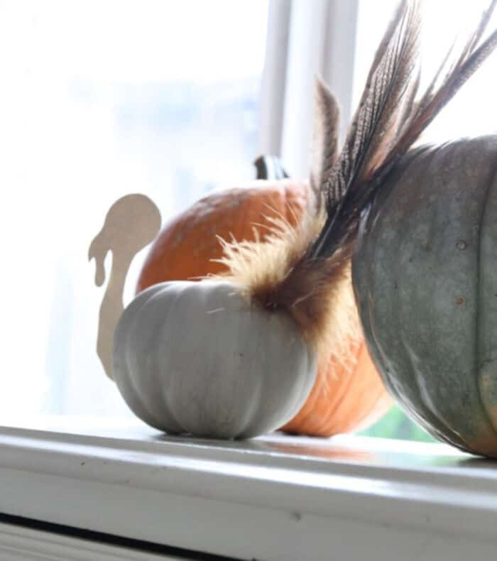 Pumpkin Turkey Craft by Craftberry Bush