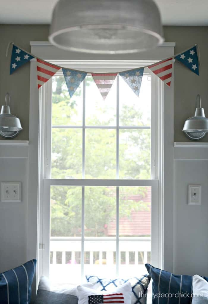 Quick and Easy Fourth Ideas by Thrifty Decor Chick