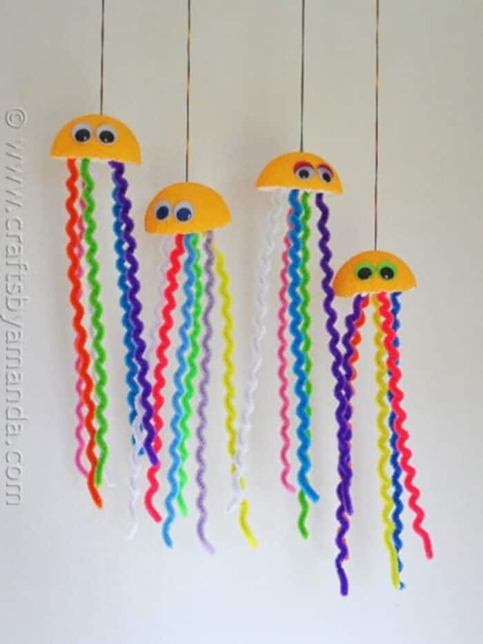 Rainbow-Jellyfish-Craft-by-Crafts-by-Amanda