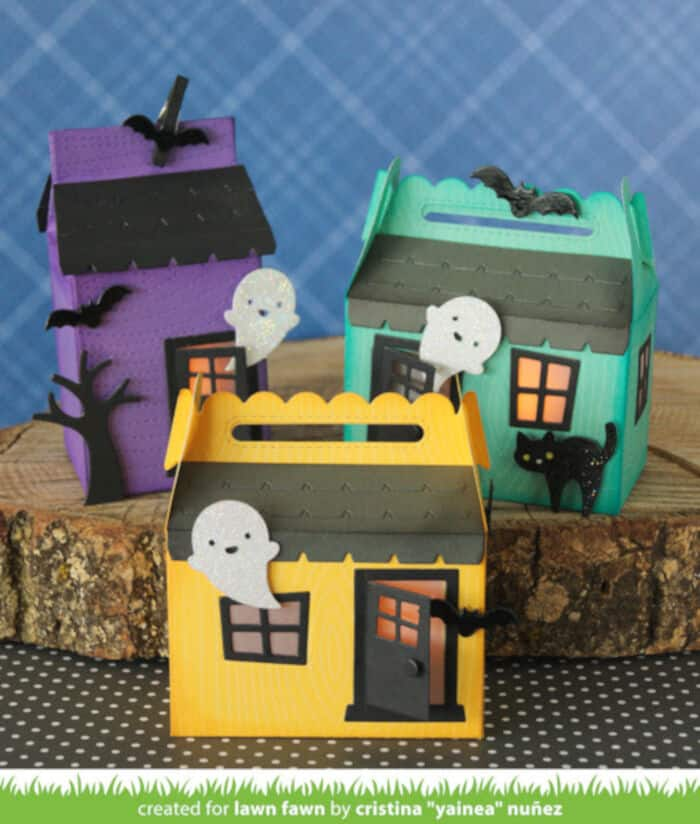 Scalloped Treat Box by Lawn Fawn