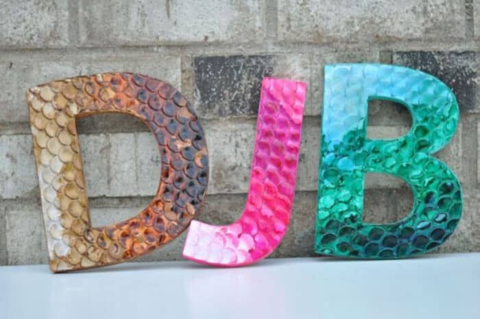 Scaly-Polymer-Clay-Letters-by-This-Heart-Of-Mine